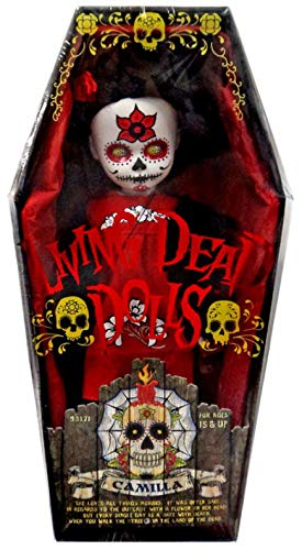 Living Dead Dolls Days of the Dead Series 20 Camilla Doll [Variant] (Mezco Toyz) (Living Dead Dolls Day Of The Dead)