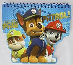 Paw Patrol Pencil Pouch, Study Set, Memo Pad, and Pocket Tissues Bundle