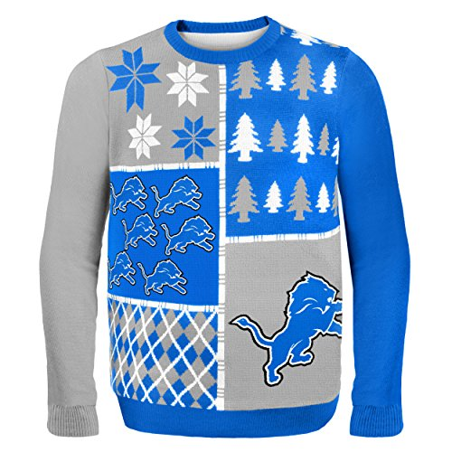 Detroit Lions Ugly Sweater Lions Christmas Sweater Ugly