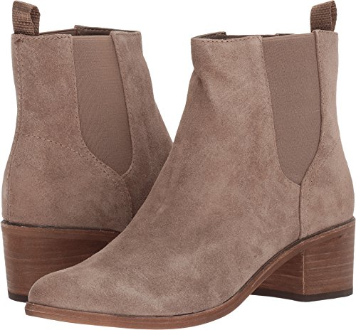 Vita Dolce Dark Women's Booties Colb Taupe Chelsea Suede Pdf4qd