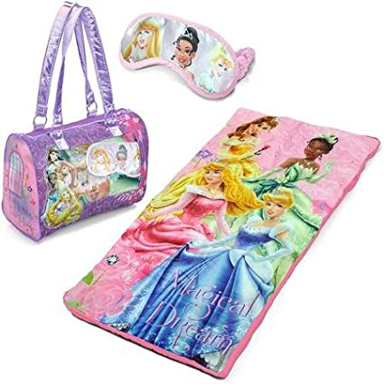 Amazon.com: Disney Princess Pijama de Slumber Saco/siesta ...