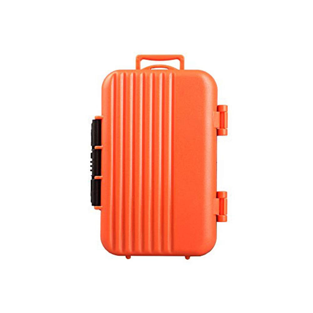 HelloPower SD SDHC SDXC CF TF Memory Card Case Holder Waterproof Carrying Storage Case Holder Box Keeper for Computer Camera Media Storage Organization with 24 slots Memory Card Cases Orange