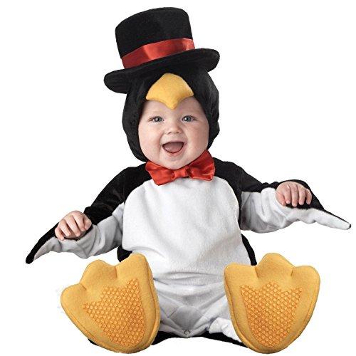 InCharacter Costumes Baby's Lil' Penguin Costume, Black/White/Yellow, Medium