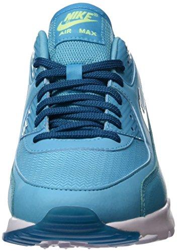 Nike Damen Air Max 90 Ultra Essential Laufschuhe Blau (Gamma Blau/Grün Abyss-Weiß)