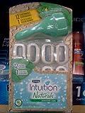 Schick Intuition Naturals Sensitive Care with aloe, 12 Cartridges + 1 Razor Handle