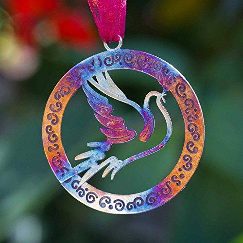 Peace Dove Ornament - 4