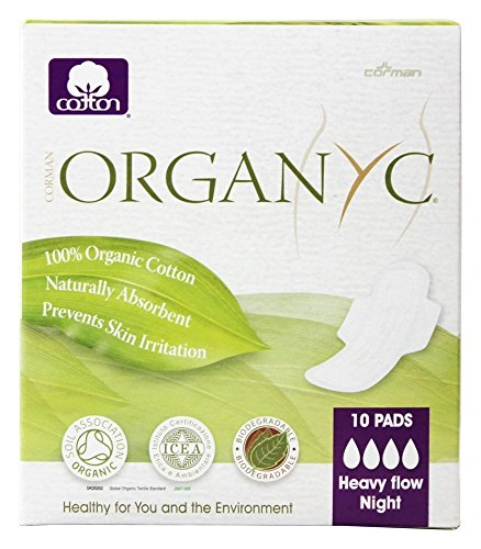 Organyc Organic Cotton Menstrual Wings product image