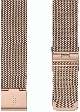 Fitbit Inspire 2, Stainless Steel Mesh, Rose Gold Stainless Steel, One Size