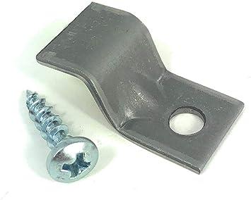 Steel ROKSTBFAST Rok Hardware 14 Gauge Table Top Fasteners with Screws