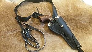 """Leather Shoulder Holster.38/.357 6"""""""