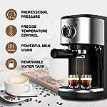 Bonsenkitchen-Macchina-per-caffe-Espresso-15-Bar-Macchina-per-caffe-Espresso-e-Cappuccino-Latte-Pompa-Italiana-Capacita-serbatoio-acqua-12-L-1450W