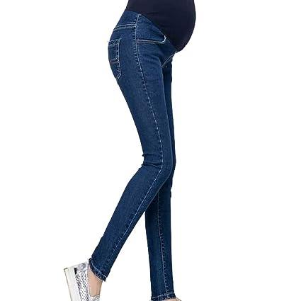 mama stadt Pantalones Premama Vaqueros Denim Pantalones ...