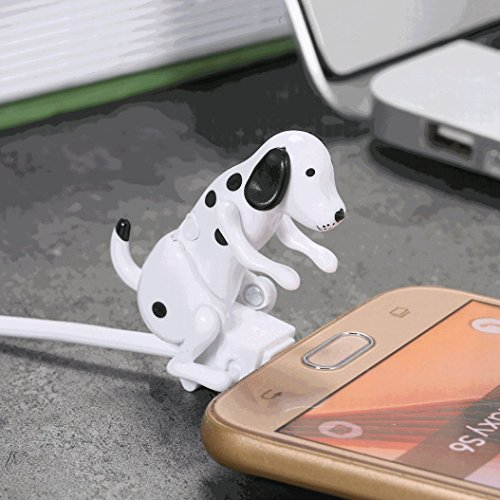 DEESEE(TM) NewMini Humping Spot Dog Toy Smartphone Cable Charger Data 1M Charging Line (Duracell Quick Charger)