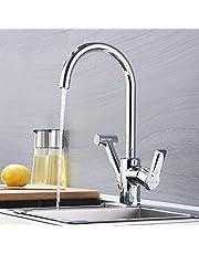 Sagetta Hoher Auslauf Küchenarmatur Ausziehbar Wasserhahn Küche mit Brause