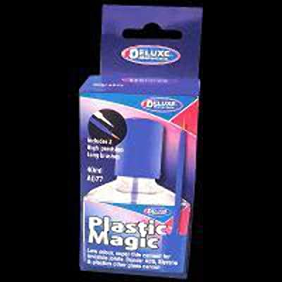 DELUXE MATERIALS Plastic Magic Adhesive 40 ML, DLMAD77: Toys & Games