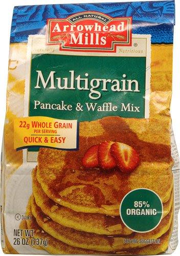 Arrowhead Mills Multigrain Pancake & Waffle Mix -- 26 oz - ()