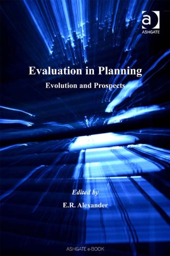 Evaluation in Planning: Evolution and Prospects (Urban and Regional Planning and Development Series) Pdf