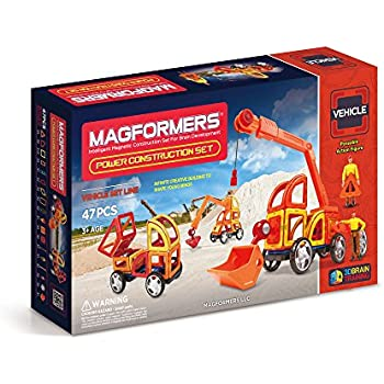 Magformers Vehicle Power Construction Set (47-pieces)