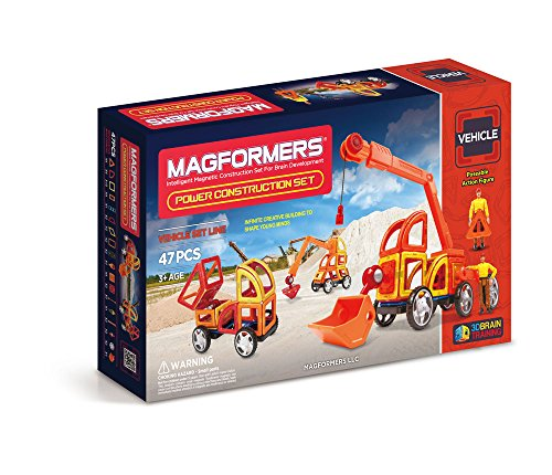 Magformers Vehicle Power Construction 47 pieces