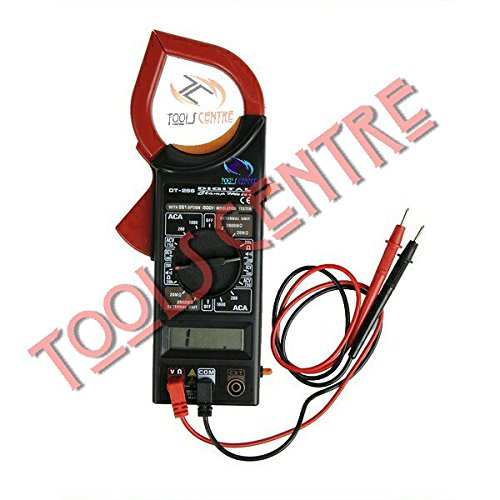 TOOLSCENTRE Digital Clamp Meter With Lcd Display Ac/Dc Voltage Electricity Ampere Measuring Instrument.