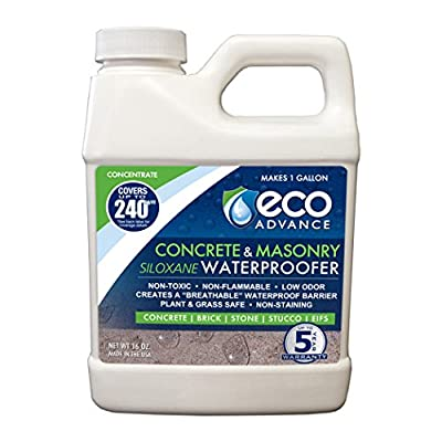 Eco Advance Concrete/Masonry Siloxane Waterproofer - Concentrate