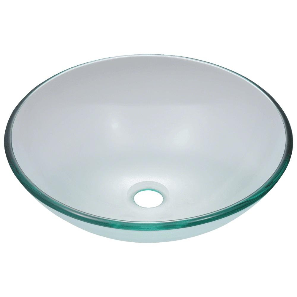 601 Crystal Glass Vessel Sink
