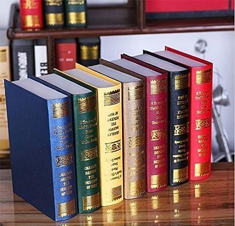 Urgrace Libri Finti Decorativi Stile Antico Europeo Modelli Di