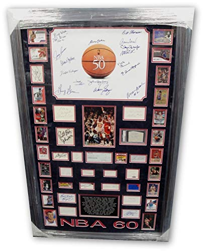 Wilt Chamberlain Kobe Bryant Pete Maravich 57 Autographed Signed Items Nba 60 Greatest Memorabilia JSA (Wilt Chamberlain Sign)