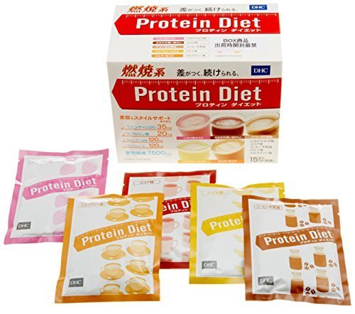 DHC Protein diet 50g×15bags Popular products are very sold in Japan!! by DHC by DHC