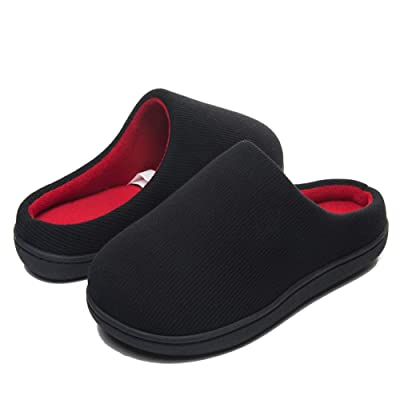 Men's Comfort Slip On Memory Foam Slippers Washable Ultra Lightweight Indoor House Shoes with Non-Slip Sole | Slippers