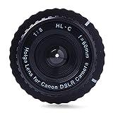 HOLGA (Holga) HL-N Lens 60mm f / 8 Genuine HOLGA HL-C Lens 60mm f / 8 Canon digital single-lens reflex digital SLR LOMO Standard For Canon Digital SLR DSLR LOMO DC519