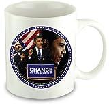 Barack Obama Coffee Mug - Change We Can Believe In offers
