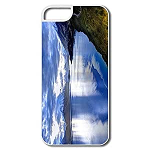 Funny Lake New Zealand IPhone 5/5s Case For Birthday Gift