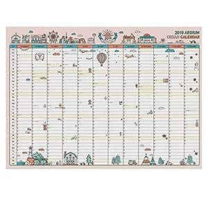 Amazon.com: Calendario Busy 2019, calendario organizador ...