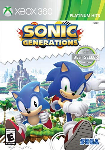 Sonic Generations (Platinum Hits) - Xbox 360 (Best Xbox 360 Games)