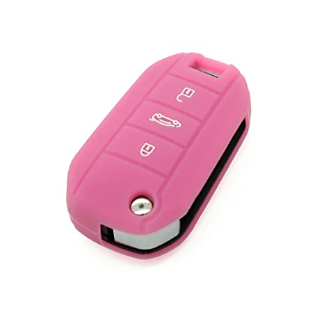Funda de silicona para llave de Peugeot con 3 botones, de Fassport (CV3300)