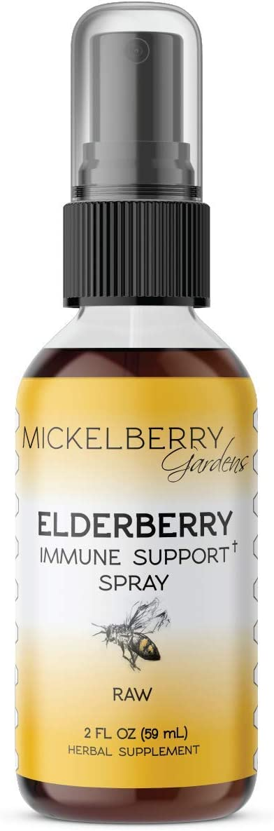 Elderberry Honey Tonic (2 oz Spray)