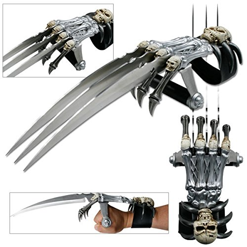 Front Claw Replica - Skull & Bones Gauntlet Style Hand Claw (Limited Edition)