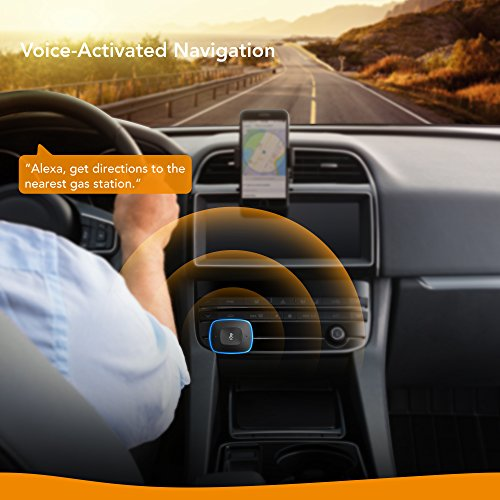 Roav VIVA by Anker, Alexa-Enabled 2-Port USB Car Charger in-Car Navigation, Voice Initiated Calling, and Music Streaming. Compatible with Android and iOS Smart Devices by ROAV (Image #2)