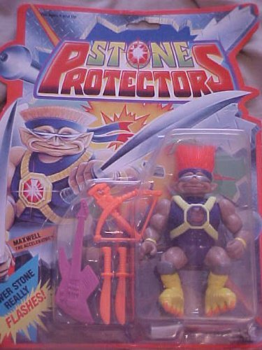 Stone Protectors Maxwell the Accelerator Action Figure (Action Stone Figures Protectors)