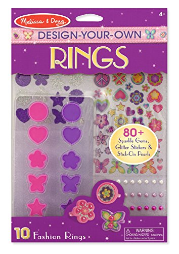 Melissa Doug Design Your Own Rings Fashion