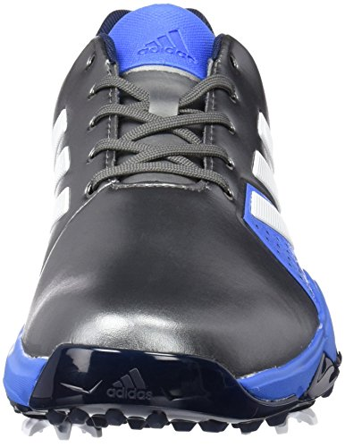 adidas Adipower Boost 86 Calzado de horma ancha para Hombre, Plata / Azul / Blanco, 41.3