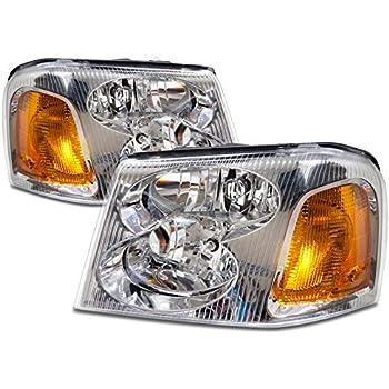 51JtzcHu6pL._SL500_AC_SS350_ amazon com gmc envoy headlight oe style replacement headlamp