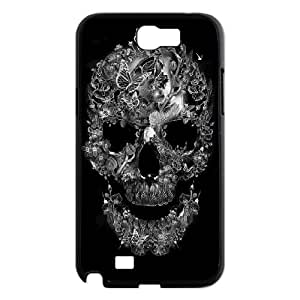 Unique Design Case for samsung galaxy note2 n7100 w/ Sugar Skull image at Hmh-xase (style 4)