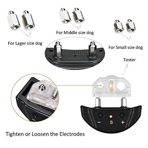 Bark Collar Adjustable Sensitivity Electric Training Dog