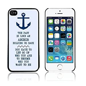 ABC New Flower Anchors Pattern Hard Case Cover for Iphone 5 5g 5s