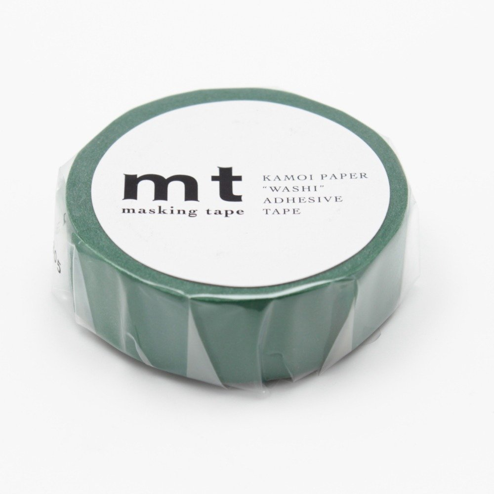 MT Solids Washi Paper Masking Tape MT01P204 Peacock 3//5 x 33