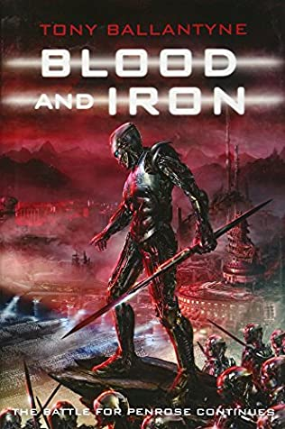 book cover of Blood and Iron