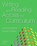 Writing and Reading Across the Curriculum 13th Edition