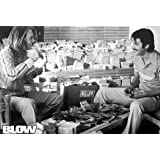 Blow - Giant Movie Poster (Johnny Depp with Money) (Size: 54'' x 39'')